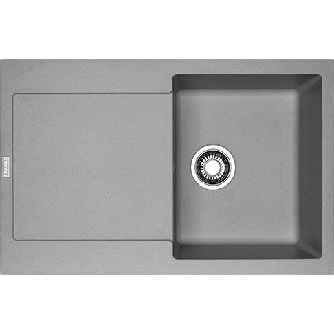 lavello franke maris fragranite mrg 611 stone grey su brand o store. Black Bedroom Furniture Sets. Home Design Ideas
