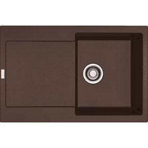 Lavello FRANKE Maris Fragranite MRG 611-L Dark Brown 97x50