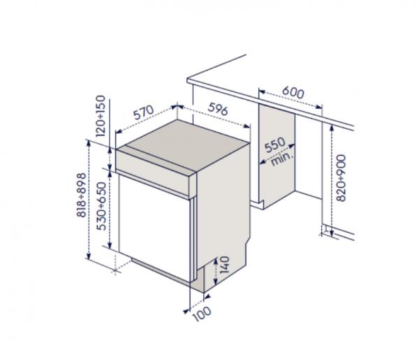 Lavastoviglie ELECTROLUX TP 1004 R5 N 1