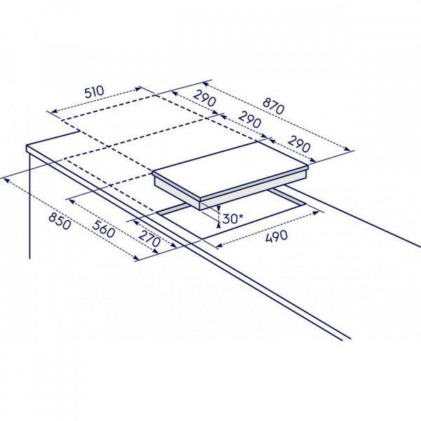 Electrolux Piano Cottura EGC 3322 NVK Incanto